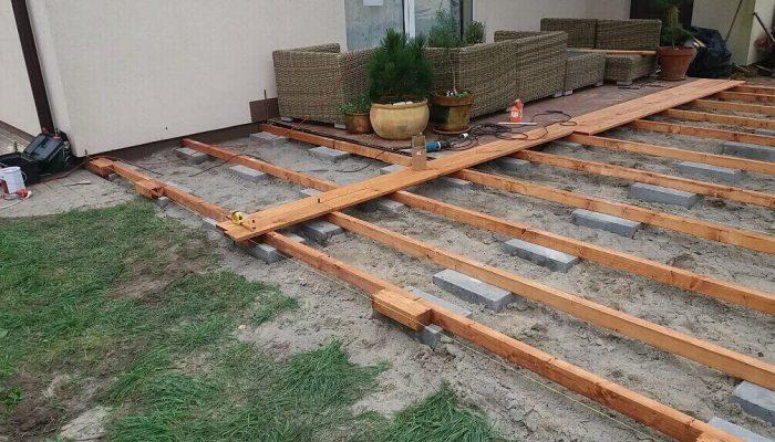 budowa tarasu