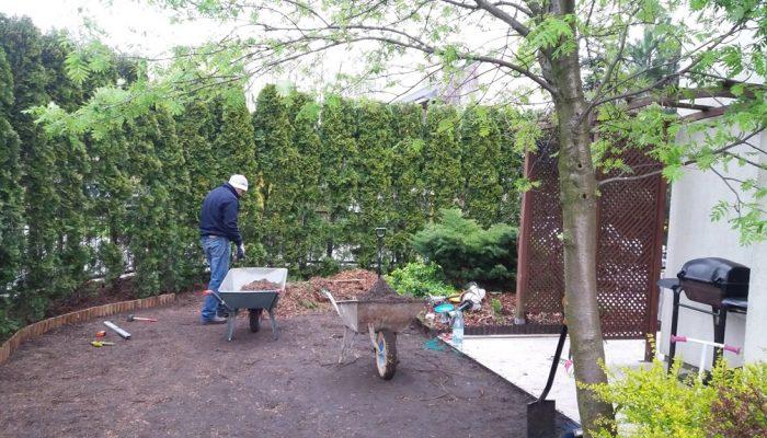 ogród warszawa